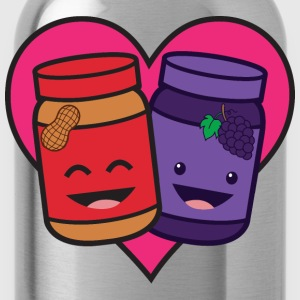 Peanut Butter And Jelly - True Love T-Shirts - Water Bottle