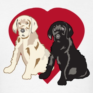 Love Great Dane Puppy - Men's T-Shirt