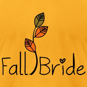 Fall Bride Eco-Friendly Tote - Men's T-Shirt by American Apparel