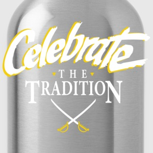 Celebrate The Tradition T-Shirts - Water Bottle