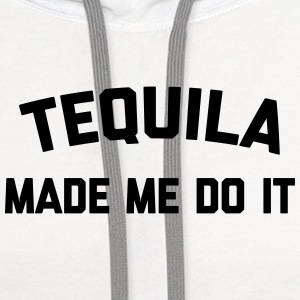 Tequila Do It Funny Quote Buttons - Contrast Hoodie