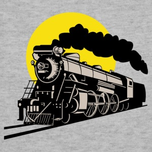 steam locomotive - Sweatshirt Cinch Bag