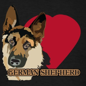 Love A Shepherd - Men's T-Shirt