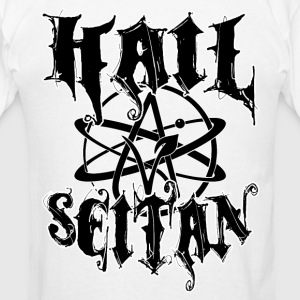 Hail Seitan - Vegan Atheist Hoodies - Men's T-Shirt