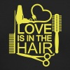 Love is in the hair (1c) Long Sleeve Shirts - Men's Long Sleeve T-Shirt by Next Level