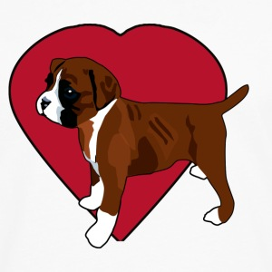 I Love My Boxer Puppy - Men's Premium Long Sleeve T-Shirt