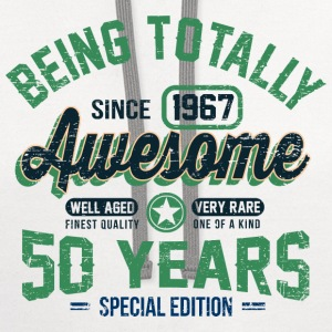 50 Years Of Being Awesome T-Shirts - Contrast Hoodie