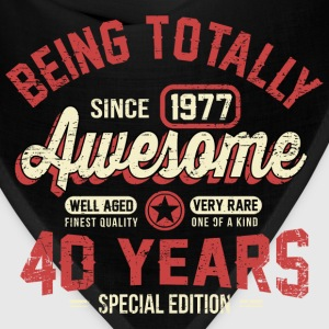 40 Years Of Being Awesome T-Shirts - Bandana