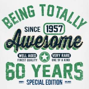 60 Years Of Being Awesome T-Shirts - Adjustable Apron