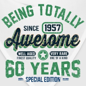 60 Years Of Being Awesome T-Shirts - Bandana
