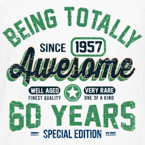 60 Years Of Being Awesome T-Shirts - Men's Premium Long Sleeve T-Shirt