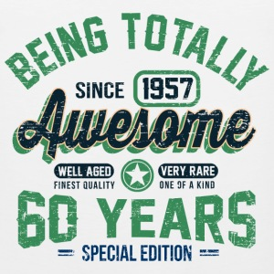 60 Years Of Being Awesome T-Shirts - Men's Premium Tank