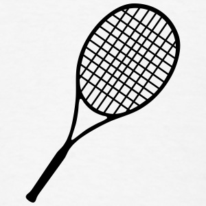 Tennis racket Hoodies - Men's T-Shirt