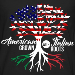 American Italian T-Shirts - Men's Premium Long Sleeve T-Shirt
