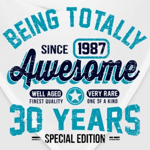 30 Years Of Being Awesome T-Shirts - Bandana