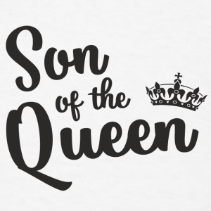 Son of the Queen Baby Bodysuits - Men's T-Shirt