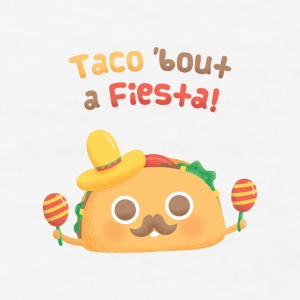 Cute Taco bout A Fiesta Mugs & Drinkware - Men's T-Shirt