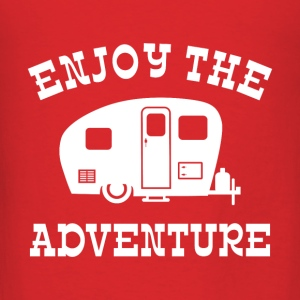 Enjoy The Adventure RV Bags & backpacks - Men's T-Shirt