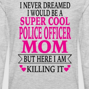 Police Officer Mom - Men's Premium Long Sleeve T-Shirt