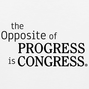 The Opposite of Congress is Progress - Men's Premium Tank