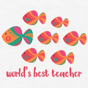 Best Teacher Fish Mugs & Drinkware - Men's T-Shirt