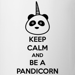 Keep calm and be a pandicorn,unicorn - Coffee/Tea Mug