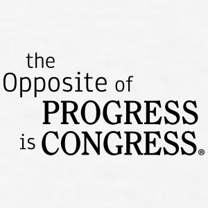 The Opposite of Progress is Congress - Men's T-Shirt