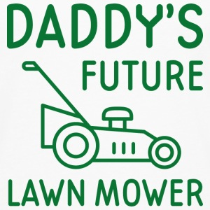 Daddy's Future Lawn Mower - Men's Premium Long Sleeve T-Shirt