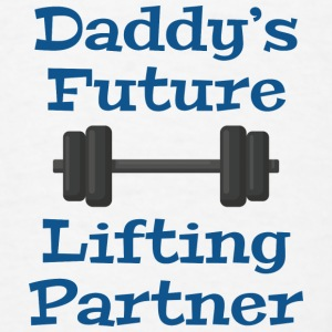 Daddy's Future Lifting Partner - Men's T-Shirt
