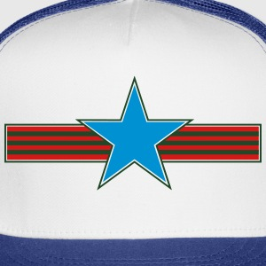 star stripes_vec_3 us T-Shirts - Trucker Cap