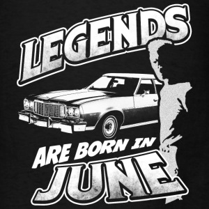 legends are born in june birthday Bags & backpacks - Men's T-Shirt