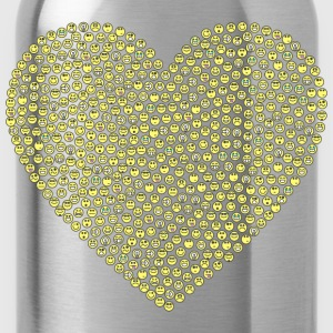 Emoticons Heart - Water Bottle