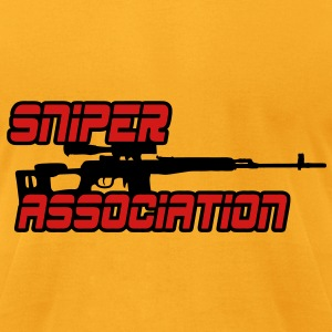 Sniper Association Bags & backpacks - Men's T-Shirt by American Apparel