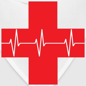 Red Cross First Aid Icon - Bandana