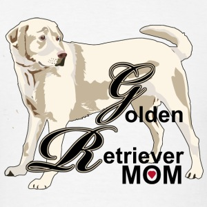 Golden Retriever Dad - Men's T-Shirt