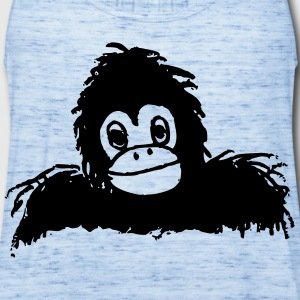 Gorilla - Women's Flowy Tank Top by Bella