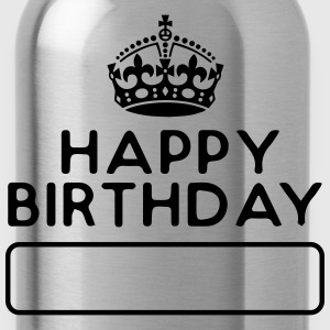 HappyBirthday - Your name - Water Bottle