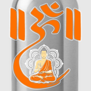 Om Lotus Buddhism Yoga Meditation Spiritual T-Shirts - Water Bottle