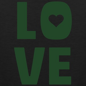 love (dh) T-Shirts - Men's Premium Tank