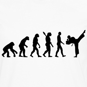 Evolution Karate T-Shirts - Men's Premium Long Sleeve T-Shirt