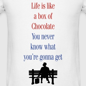Box of Chocolate Tanks - Men's T-Shirt