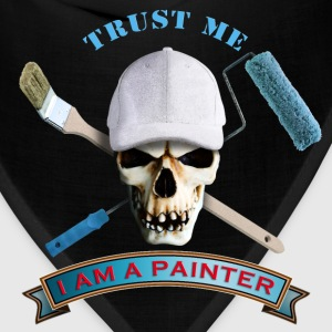 painter_skull_brush_092016_b Kids' Shirts - Bandana