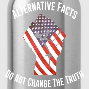 March For Truth Alternative Facts Quote  T-Shirts - Water Bottle