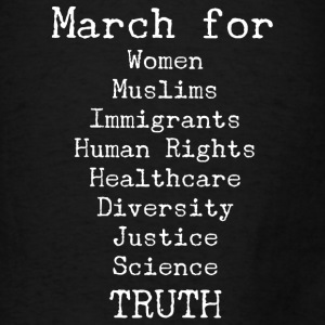 March For Truth  Bags & backpacks - Men's T-Shirt