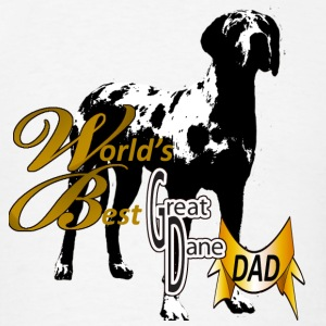 World's Best Dane Dad - Men's T-Shirt