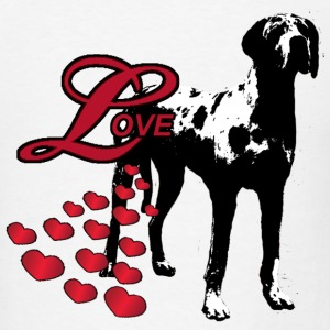 Love A Great Dane - Men's T-Shirt