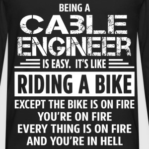 Cable Engineer - Men's Premium Long Sleeve T-Shirt