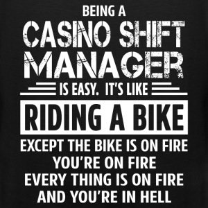 Casino Shift Manager - Men's Premium Tank