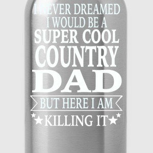 Country Dad - Water Bottle