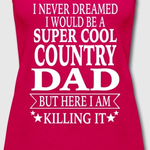 Country Dad - Women's Premium Tank Top
